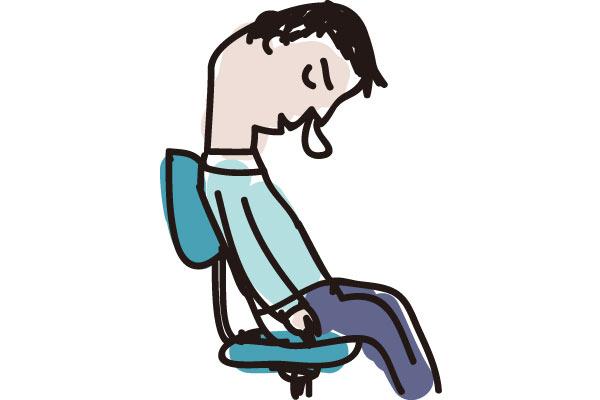 夜に眠気に教われるのは体力が無いから?