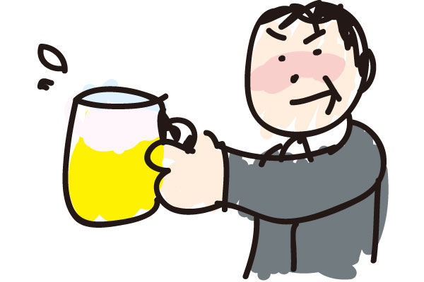 お酒を飲んだ翌日に倦怠感や怠さを残さない方法